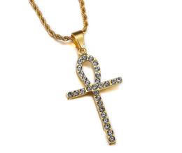 $enCountryForm.capitalKeyWord Australia - Egypt Key Gold Plated Rapper Key Pendant Necklace 75cm Gold Color Silver Color HIPHOP New York Men's Pendant necklaces 2017 Autumn Style
