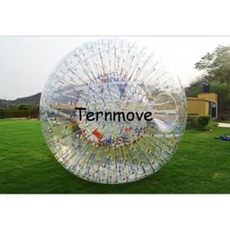 aufblasbarer Zorb-Ballon aufblasbarer rollender zorb Kugel-Hydrokörper zorb Wasserball, aufblasbare glühen transparente zorbing Bälle
