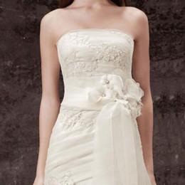 Vente en gros Mariage Ceinture De Mariage Ceinture Ceinture À La Main 2016 Nouveau Charme Fleur Dentelle Accessoires De Mode demoiselle d'honneur robes de mariée correspondant