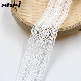 $enCountryForm.capitalKeyWord NZ - 20yards lot 4cm White Cotton Lace Trims DIY Ribbon for Home Wedding Craft Handmade Patchwork Cloth Accessories