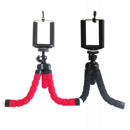 Tripod online shopping - Toney Adjustable Three Legs Stand Aluminium Self Shooting Bracket Cell Phone Holder Mobile Phone Camera Flexible Mini Tripods