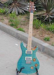 Free Shipping Personal Tailor Light Blue Electric Guitar Maple Fingerboard Can Customization And Change Color