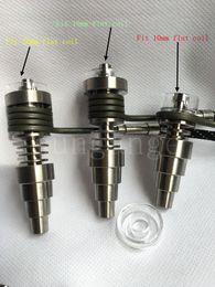 $enCountryForm.capitalKeyWord Australia - HOT!! 10mm 14mm 18mm male and female adjustableTitanium Quartz Hybrid E Digital Nail Fit flat 10mm 16mm 20mm Heater Coil D Digital Nail