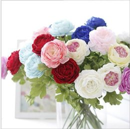 $enCountryForm.capitalKeyWord UK - Floace Artificial Plant Chinese Herbaceous Peony Wedding Decoration Top Grade Silk Flower Home Decoration Accessories G495