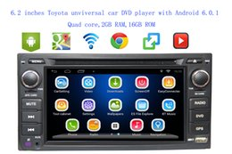 $enCountryForm.capitalKeyWord Canada - 6.2 inches 3G 4G Android 6.0 2 DIN Car DVD GPS for Toyota Terios Old Corolla Camry Prado RAV4 Universal radio wifi USB SD