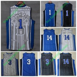 b272b3433cac ... White See larger image Hot Sale Duke Blue Devils College Basketball  Jerseys 1 Kyrie Irving 3 Grayson Allen 14 Brandon ...