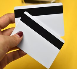 $enCountryForm.capitalKeyWord UK - 230pcs lot Inkjet Printable PVC loco magnetic strip card for inkjet printer