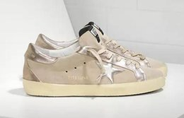 Golden Goose Mens Low-tops & Trainers in Pink - Golden Goose Outlet