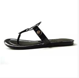de6b0bde4 online shopping 2 Colors PU Leather Brand New Women Thong Sandals Summer  Women Beach Sandals Famous