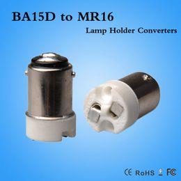 Lamp Holder Converters 5pcs B15 Ba15d To Mr16 Mr11 Lamp Holder Converter
