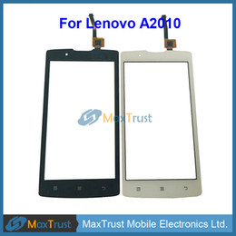 Touch screen replacemenT for lenovo online shopping - Top Quality quot For Lenovo A2010 Touch Screen Digitizer Front Touch Glass Panel Sensor Replacement Part Black White Color