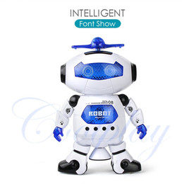 Electronics Dance Music Canada - Coolplay CP99444-2 Smart Space Dance Robot Electronic Walking Toys With Music Light Gift For Kids Astronaut Toy to Child