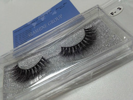 Mink Eye Lashes Wholesale Canada - 5 Pairs Soft Natural Long Mink Hand Made False Eyelashes Thick Curly 3D Mink Eye Lashes Extension Tools