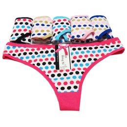 d04bfd098 2017 nova marca ladies underwear para mulheres calcinha sexy tanga de  algodão tanga mujer dot impresso rosa calcinha lingerie das mulheres g  corda femme