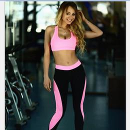 $enCountryForm.capitalKeyWord Canada - Hot sale Burst yoga waist sports leisure sleeveless two sets of summer WT006 Women's Tracksuits