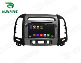 android mobile video 2019 - Android 6.0 Octa Core Car DVD Player GPS Sat Navi Stereo for Hyundai Santa Fe 2012 Stereo Headunit cheap android mobile