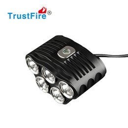$enCountryForm.capitalKeyWord UK - LED Bicycle Light Bike Headlight Cycling motorcycle Head Lamp 2800 Lm 5 x CREE XM-L T6 Bicycle Accessories Charger Rubber Ring Set