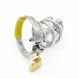 adult toys for small penis 2021 - Chastity Devices Small Male Chastity Cage Metal Cock Ring Cockring Penis Plug Urethral Sound BDSM Sex Toys Adult Toy for Male G111