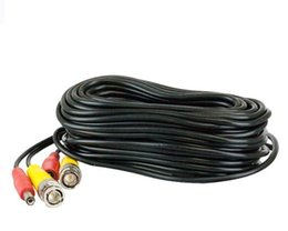 $enCountryForm.capitalKeyWord UK - Pre-made All-in-One BNC Video and Power Cable Wire Cord with Connector for CCTV Security Camera 200Ft
