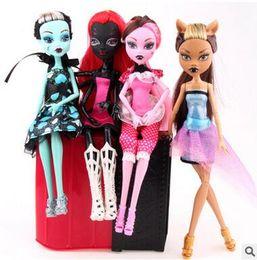 $enCountryForm.capitalKeyWord Australia - Monster High Dolls Elf Monster High School Girls Dolls HOT Sale Dolls Good Quality Little Girls Toys Birthday Gifts Ship By DHL
