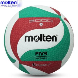Jeu De Ballon Extérieur Pas Cher-Molten V5M5000 Taille officielle du jeu Poids Compétition d'entraînement en plein air en plein air Balle de volleyball Beach Handballs voleibol volleyball