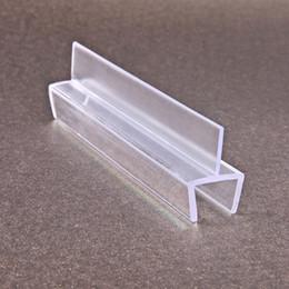 Ring Slides Australia - New material shower enclosure sliding door glass door seals