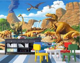 $enCountryForm.capitalKeyWord Australia - 3d room wallpaer custom mural photo Fantasy Lake Jurassic Dinosaurs TV backdrop painting 3d wall murals wallpaper for walls 3 d