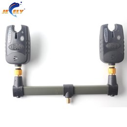 China Wholesale- Free shipping 24cm Carp Fishing Buzz Bar rod rest Fishing Rod Holder for 2 bite alarms supplier bit bar suppliers