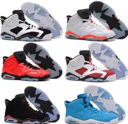 818346c1fec Free Shipping 2017 air 6 cheap basketball shoes Olympic red black Infrared  Carmine Sneakers Sport Shoe For Online Sale size 8 - 13