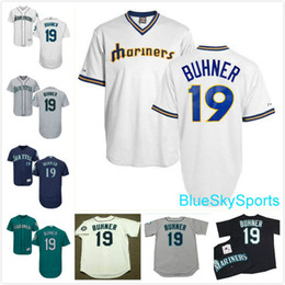 newest ef64f 52a13 seattle mariners jay buhner 19 blue authentic jersey sale