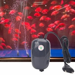 da1433cbea6 Oxygen Pumps Canada - High Energy Efficient Aquarium Oxygen Fish Air Pump  Tank Super Silent EU