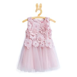 $enCountryForm.capitalKeyWord UK - Retail Hot sale summer pink flower Kids clothing Princess dress Green 3 years old baby girls party dresses