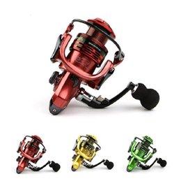 Três Cores Todo-metal Braço 13 + 1BB Spinning Carretel De Pesca EVA Lidar Com Carretilhas De Pesca Gapless Cabeça de Metal Roda de Fiar Frete Grátis