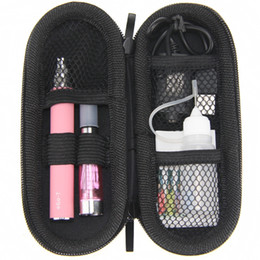 Ego T Clearomizer Pack UK - CE4 eGo Starter kit Zipper case packing single kit CE4 Atomizer Clearomizer ego t 650mah 900mah 1100mah battery electronic cigarette