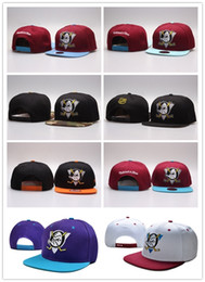 anaheim mighty ducks snapback Canada - NEW Vegas Golden Knights Mighty Hockey Snapback Hats Anaheim Ducks bone cap Flat Fashion nhl Hats sports Cheap mens women baseball caps