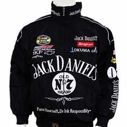 Venta caliente 2018 Nuevo F1 Racing Suit Jack Daniel Chaquetas Ropa de otoño e invierno Hombres chaqueta de manga larga chaqueta de la motocicleta Envío de la gota