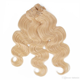 Malaysian Virgin Hair Bundles Body Wave Extension 613 Blonde 3pcs Can Be Dyed Remy Human Weave Cheap Online Queenlike 9A Diamond