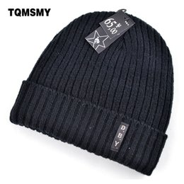 army masks 2019 - Winter hats for men double knitted warm beanies women Casual hip-hop cap plus velvet mask caps for women hat bad hair da