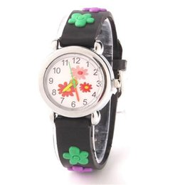 Chinese  3D Cartoon Children Watch Kids Students Cute Design Silicone Quartz Analog Wristwatches Little Girl Boy Christmas Gift Watches manufacturers