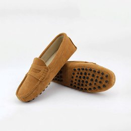 Chinese  2017 Shoes Women 100% Genuine Leather Man Flat Shoes Casual Loafers Slip On Women's Flats Shoe Moccasins Lady Driving Shoes manufacturers