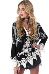 $enCountryForm.capitalKeyWord Australia - 2017 New Beach cover up Lace Swimsuit cover up Summer Crochet Beachwear Bathing suit cover ups Floral Embroidery Beach 8000