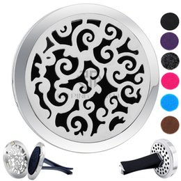 cloud cars 2019 - Hot Sale Silver Cloud (38mm) Magnet Diffuser Car aromatherapy Locket Free Pads Essential Oil 316 Stainless Steel Car Dif