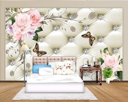 $enCountryForm.capitalKeyWord UK - European flower blooming soft bag background wall murals mural 3d wallpaper 3d wall papers for tv backdrop