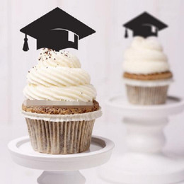 $enCountryForm.capitalKeyWord Canada - cake toppers graduation hat paper cards banner for Cupcake Wrapper Baking Cup birthday tea party wedding decoration baby shower