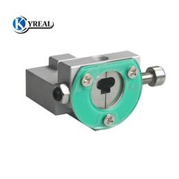 Locksmith tubuLar cutter online shopping - New CNC Key Cutting Machine Key Cutter FO21 Fixture for Ford MONDEO Lock Pick Tool Locksmith Tools