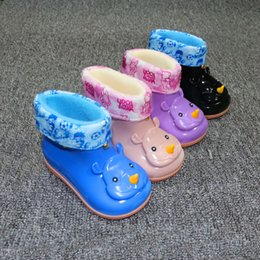 Wholesale Childrens bear shoes factory direct sales of students liner warm comfortable non slip shoes color style C DHL