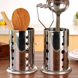 New Chopsticks Racks Stainless Steel Flatware Caddy Kitchen Cooking Cutlery  Organizer Utensil Spoon Spatula Holder Draining Rack 404433148