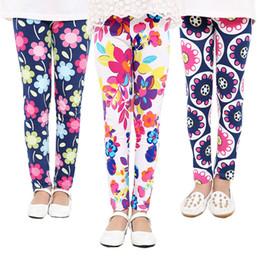 $enCountryForm.capitalKeyWord NZ - 2017 Spring Baby Kids leggings Hot Children girls Flower printed Toddler baby floral Leggins pants Girls legging baby girl leggings