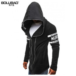 Discount creed clothing Wholesale-2017 New Arrival Brand-Clothing Spring Hoodie Sweatshirt Men Fashion Assassins Creed Hoodies Men Casual Men Sw