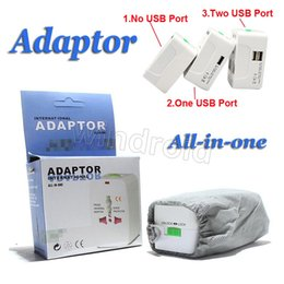 $enCountryForm.capitalKeyWord Canada - All in One Universal International Plug Adapter World Travel AC Power Charger Adaptor with AU US UK EU converter Plug + retail box Free DHL